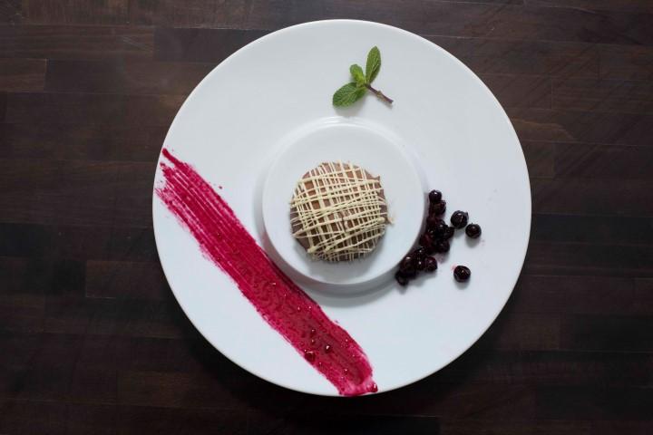 קינוח שוקולד של שף