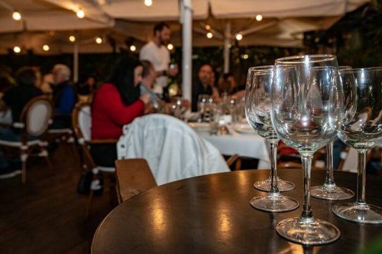 אירוע בת מצווה במסעדה